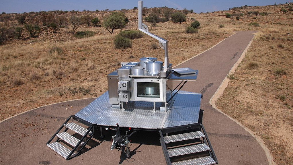 EXCELLENT RESISTANCE  Desert Wolf supply mobile field cooking units made from stainless steel