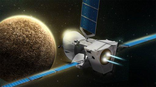 International space probe en route to Mercury