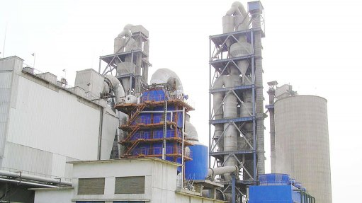 WASTE-HEAT RECOVERY A waste-heat recovery system in a cement plant