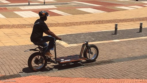 Electric cargo bike pilot study to kick off in Sharpeville in November