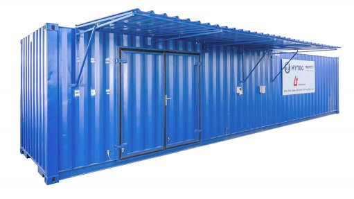 Hydraulics container one-stop shop for remote mines