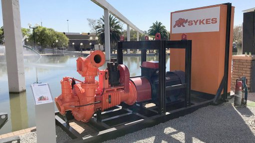Dirty Water No Problem For Sykes Water Transfer Range