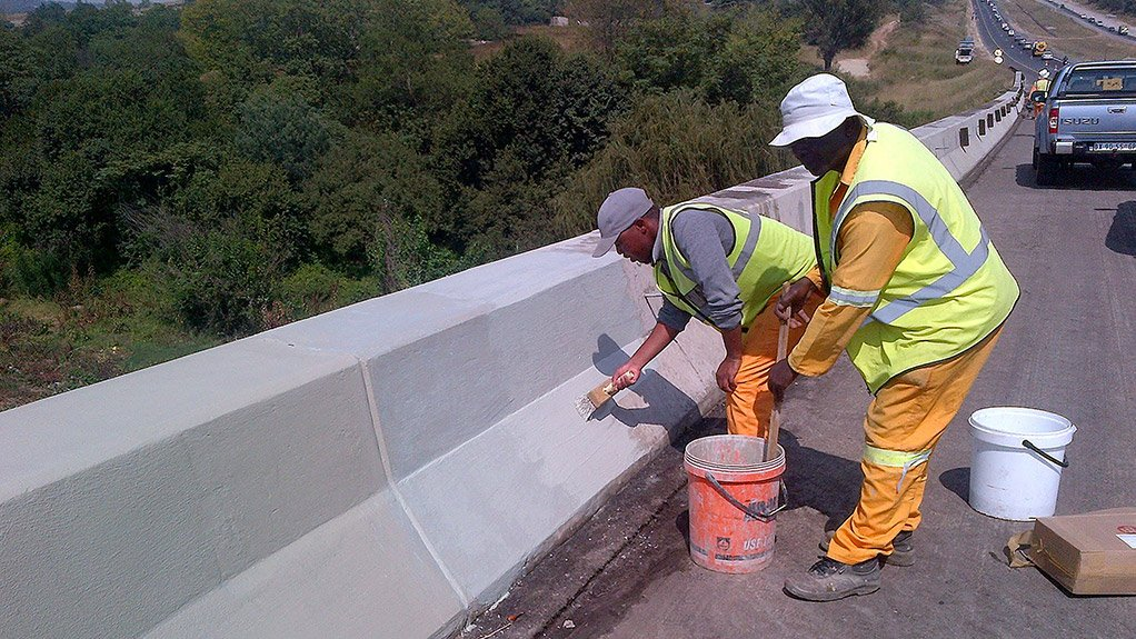 BRIDGE RESORATION a.b.e. Construction Chemicals is involved in the restoration of bridges on the N17 and N14