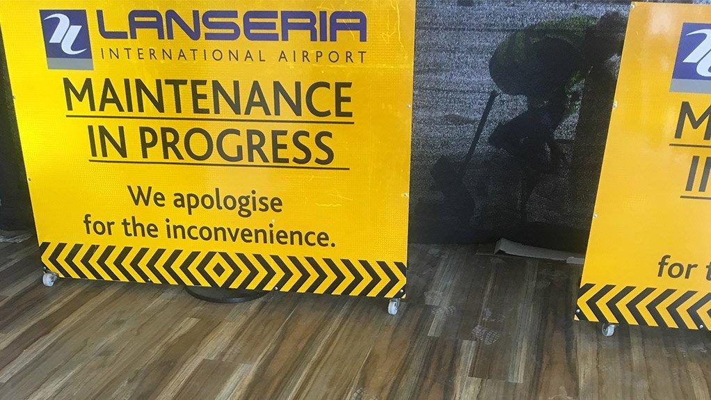 RIP UP Floor maintenance and refurbishment service is in progress
