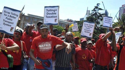 March against e-tolls to kick off in Pretoria