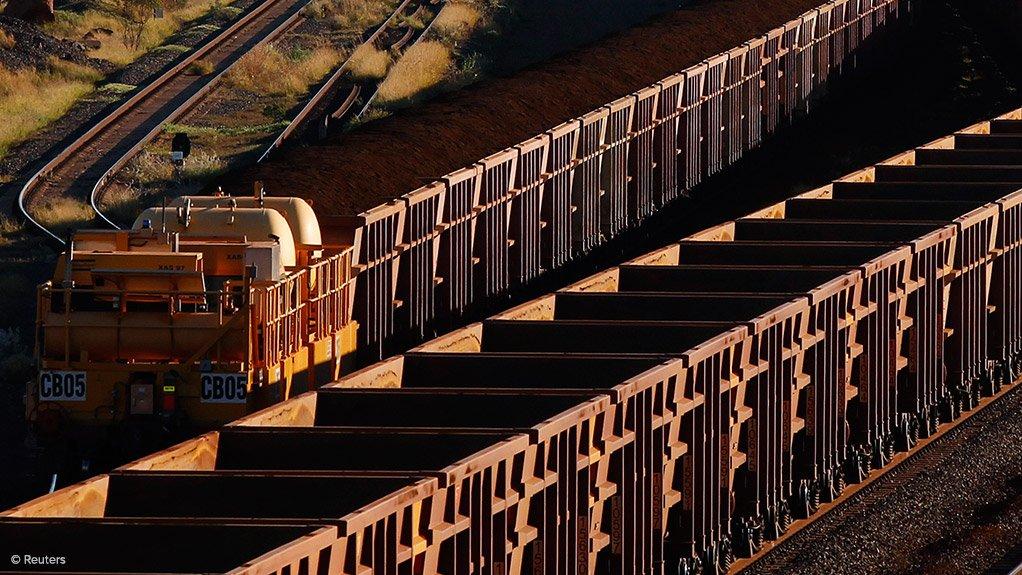 Runaway iron-ore train derailment will take BHP a week to solve