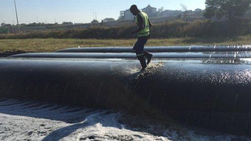 Geotextile dewatering bags increase tailings  dam longevity