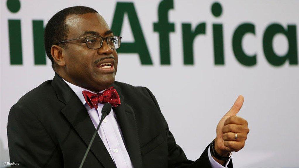 AfDB president Dr Akinwumi Adesina
