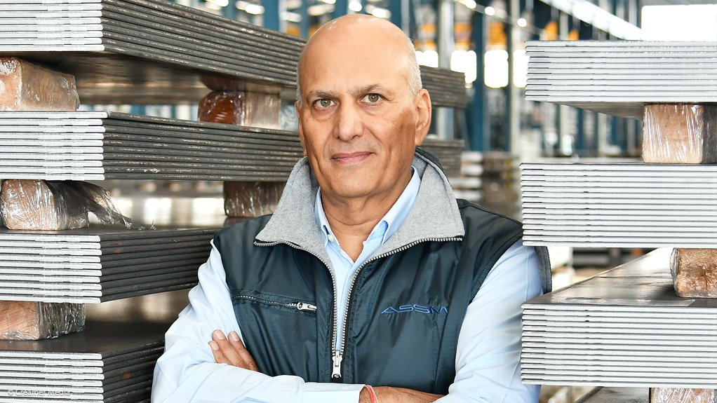 Allied Steelrode Group CE Arun Chadha