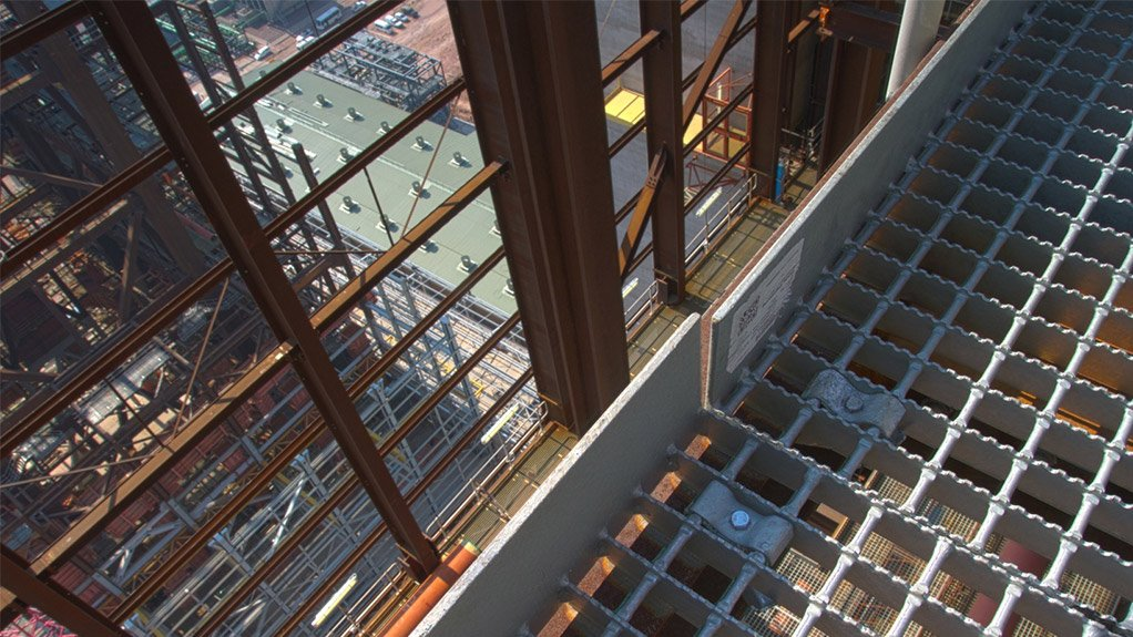 DIVERSIFIED PRODUCT OFFERING Vital Engineering supplies various items, including stainless steel handrails, GRP products, galvanised steel gratings and stainless steel gratings