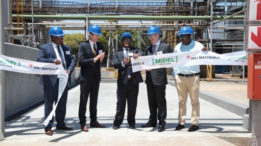 M&I Materials opens Africa's pioneer ester transformer fluid factory
