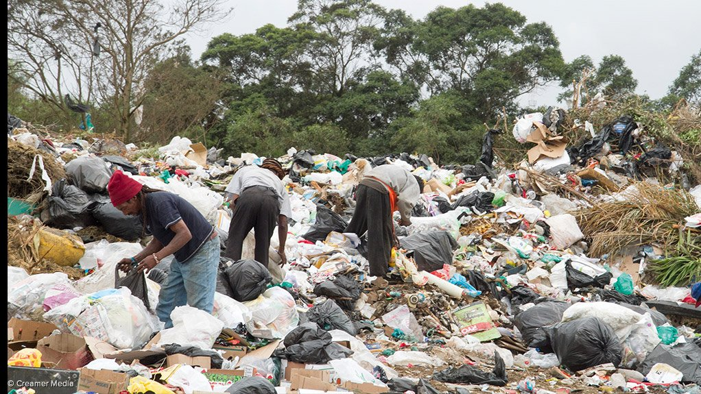GROWING SECTOR The waste picker sector is growing and plays a key role in South Africa's recycling strategy