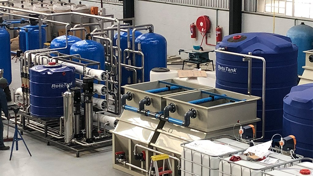 AFRICAN POTENTIAL  While growth in South Africa is currently limited, the rest of Africa holds the most potential for growth in the industrial water treatment space