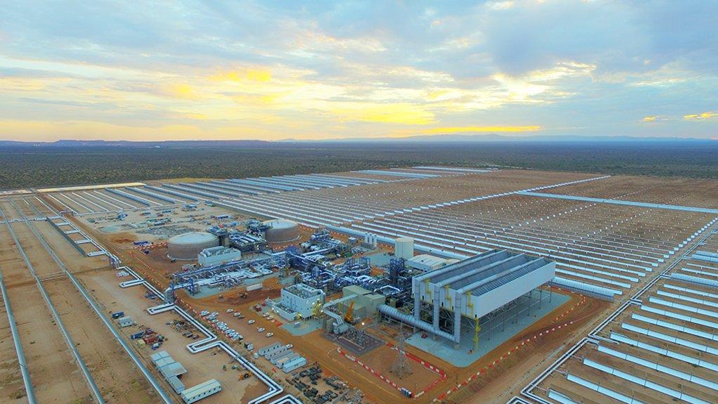 The 100 MW Kathu Solar Park