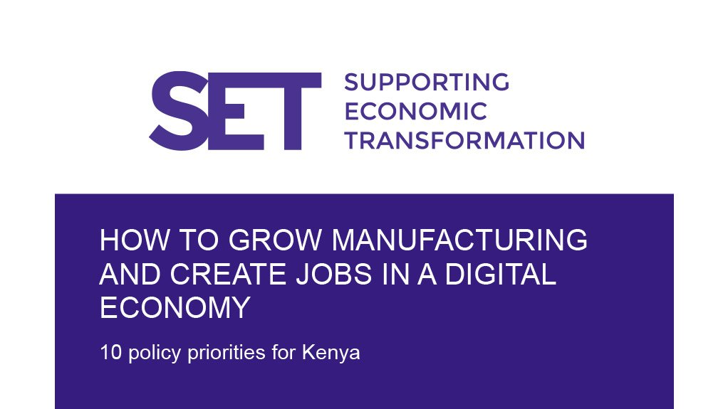 How to grow manufacturing and create jobs in a digital