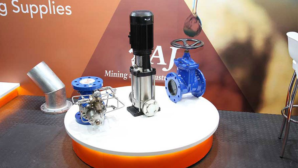 PUMPS, VALVES AND PIPES  The event could play an important role in contributing to the pumps, valves, pipes and related industries, which contribute to service delivery