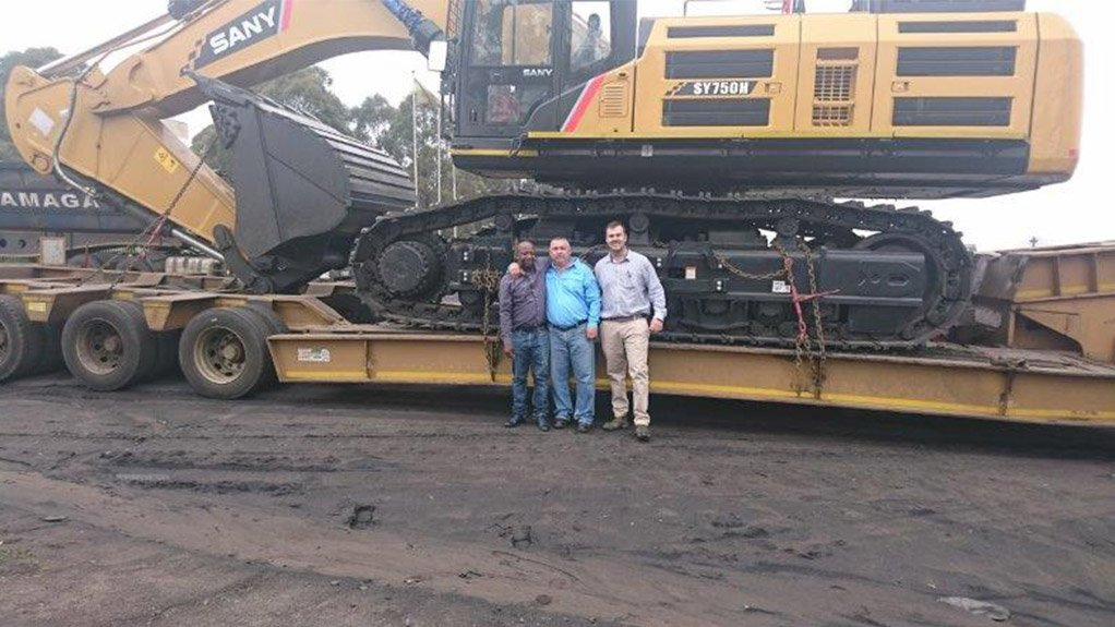 E J Construction Acquires Largest Excavator In Africa From Gem