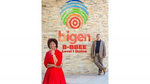 Bigen awarded Level 1 BBBEE rating