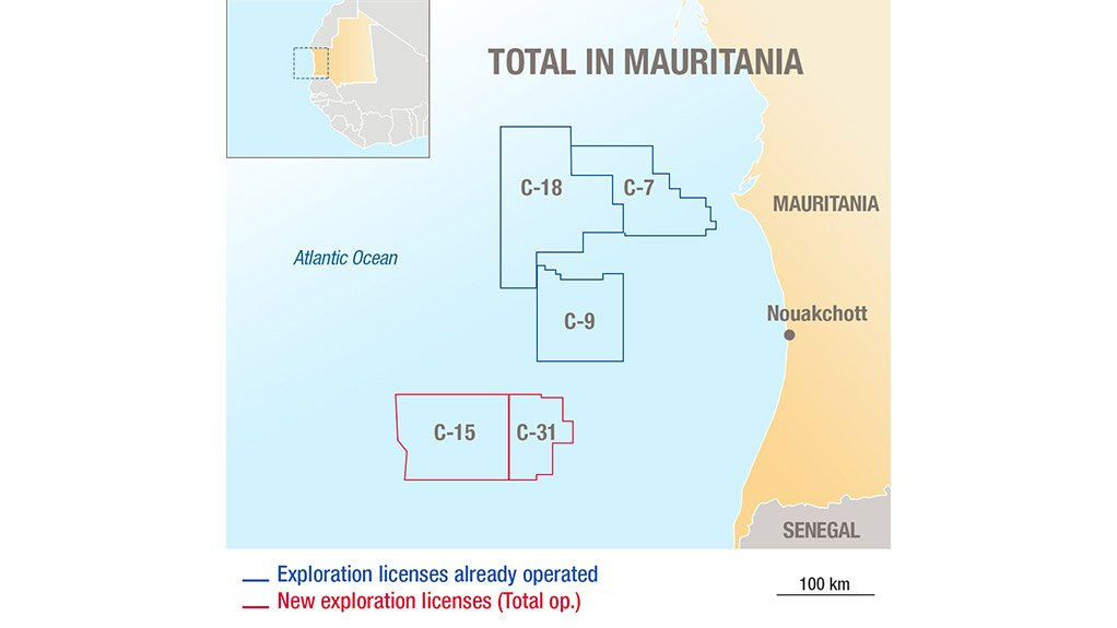 Total awarded two new exploration and production contracts in Mauritania
