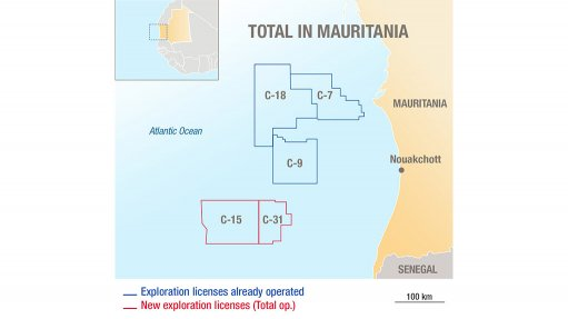 Total to further expand oil exploration footprint in Mauritania