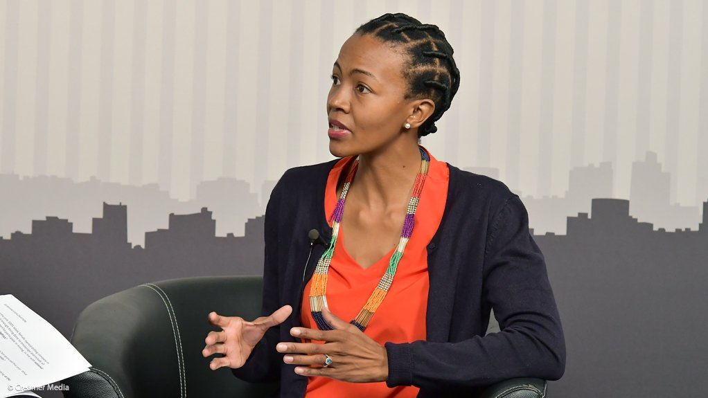 Women in Mining South Africa chairperson Lindiwe Nakedi.