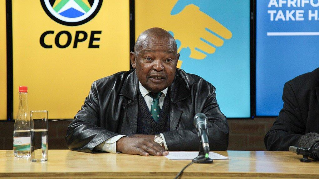 Cope leader Mosiuoa Lekota