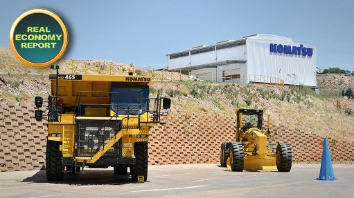 Komatsu opens new central multimillion-rand campus