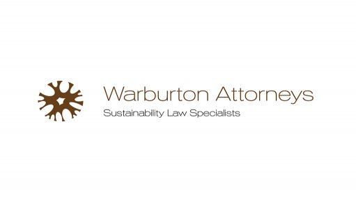 Warburton Attorneys Monthly Sustainability Legislation, Regulation And Parliamentary Update October 2018