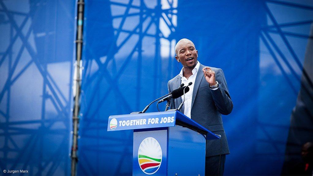 DA Leader Mmusi Maimane