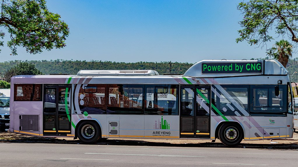 GAS, NATURALLY Natural gas had been selected as a fuel of choice for global bus companies