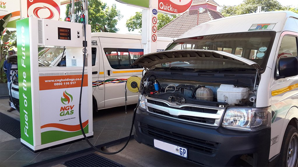 FILLER-UP CNG-enabled fueling stations are becoming more frequent in South Africa