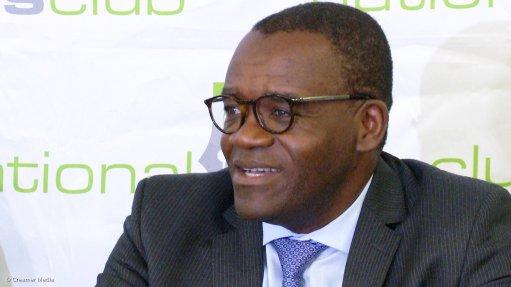 World Bank country director Paul Noumba Um
