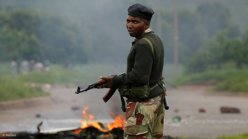 Zimbabwe soldiers 'beating' protesters as crackdown continues