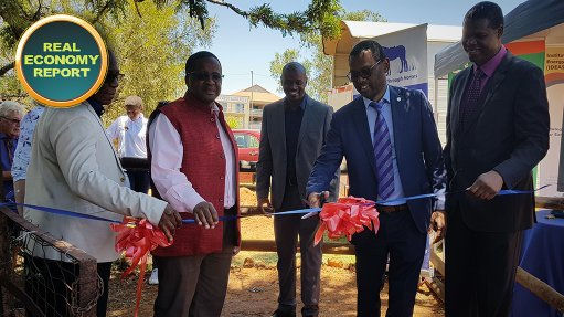Unisa, Exxaro, Sanedi launch first institutional anaerobic digester