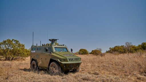 Armoured personnel carrier launched