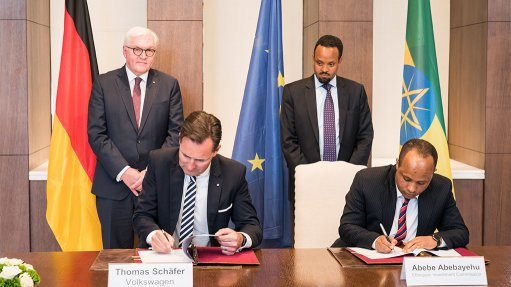 Volkswagen signs agreement with Ethiopia to develop auto industry