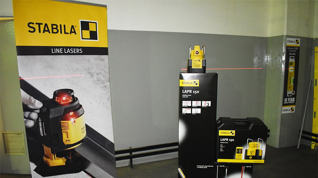 MEASURING UP The new Stabila app makes measuring information quicker to archive and easier to access
