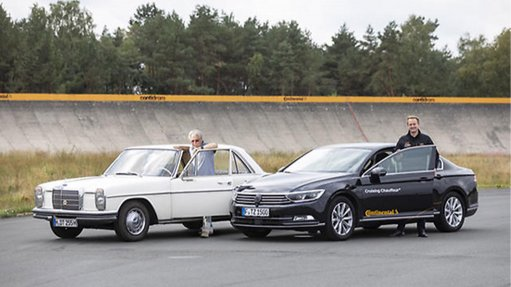 Continental optimises tyre test with  driverless test vehicle