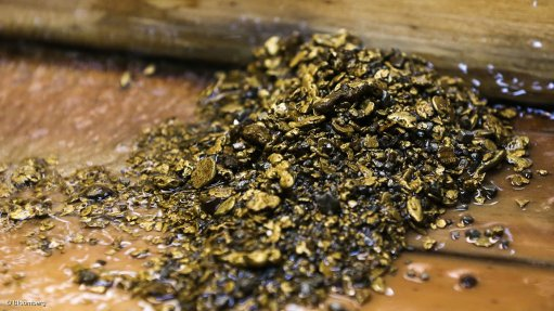 Company confirms  presence of substantial gold zone