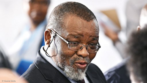 Mineral Resources Minister Gwede Mantashe