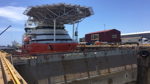 New floating caisson to improve productivity at Cape Town dry dock