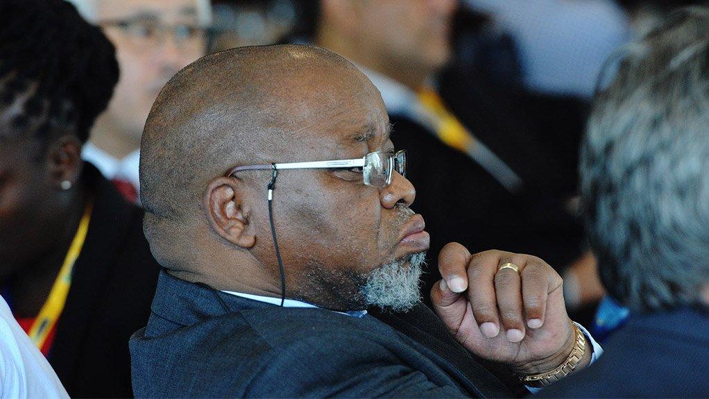 Mineral Resources Minister Gwede Mantashe