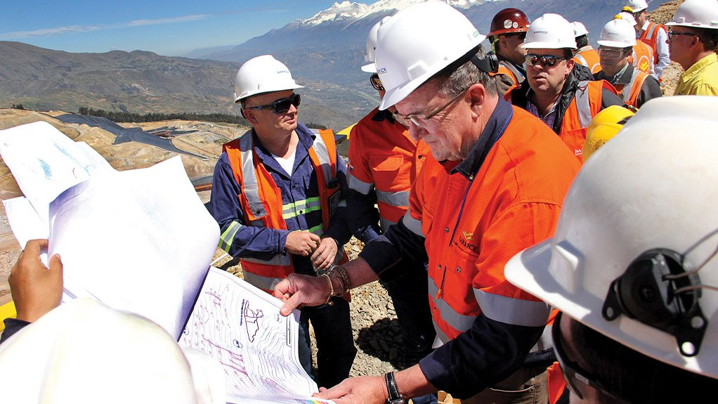 Bristow Snaps Into Fast Action Wearing Barrick Crown