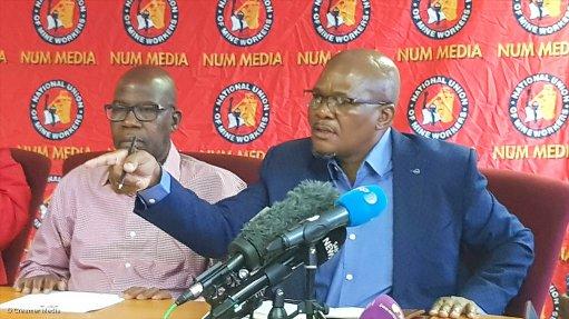 NUM seethes over lack of consultation on Eskom unbundling