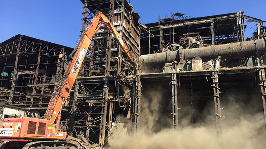 Complex heavy industrial demolition - from mining to power generation
