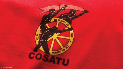 Don't trample on workers, Cosatu pleads in march to Parliament