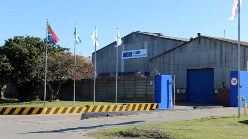 MORE PRODUCTION Weir Minerals has invested R30-million upgrade at the Heavy Bay foundry in Port Elizabeth