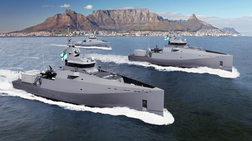 Construction of new ships for South African Navy now under way