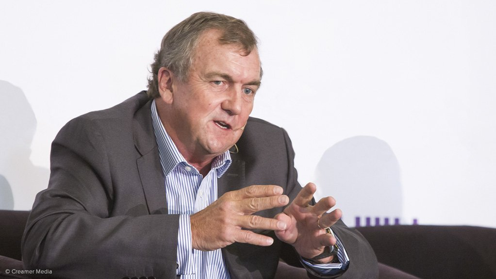 Barrick president and CEO Dr Mark Bristow