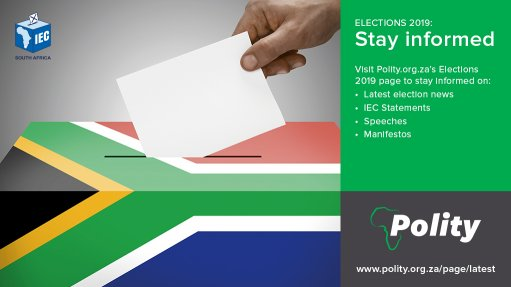 Polity aims for an informed choice by SA's electorate on May 8